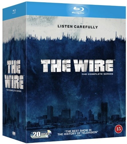 The Wire (Complete Series) - 20-Disc Box Set ( ) (Blu-Ray)