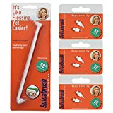 1 Sulcabrush Handle and 3 Replacement Tip Packs Bundle