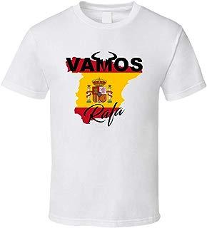 Vamos Rafa Spanish Flag Country Rafael Nadal Favorite Tennis Player Fan T Shirt