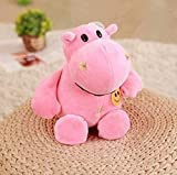 NC518 Super Doux et Confortable en Peluche Mignon Hippopotame poupée Unique Vacances Souvenir Meilleur Cadeau pour garçon et Fille Anniversaire 30 cm