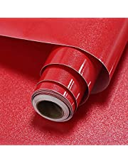 Homya 壁紙シート つるつる 60cmx10m 壁紙シール 防水 耐熱 DIY 剥がせる リメイクシート 模様替え 防カビ カッティングシート 厚手 のり付き ラメ入り
