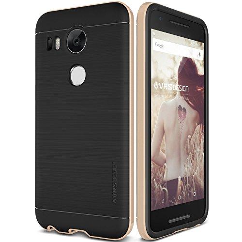 Nexus 5X Case, Verus [High Pro Shield][Steel Silver] - [Military Grade Drop Protection][Slim Fit] For Google Nexus 5X