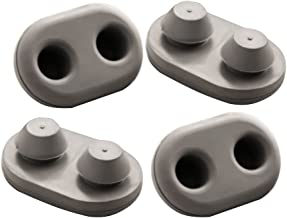 YETI Tundra Replacment Non-Slip Feet Oval for Tundra Models (4-Pack)