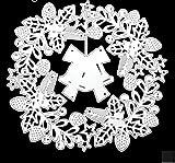 Cuchillo de corte de corona de esmalte de metal en relieve de campana Muere Diy Cuchillo de acero al carbono Muere muere para fabricar tarjetas