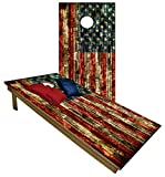 BackYardGamesUSA Premium Wooden Cornhole Board Set - Choose Between...