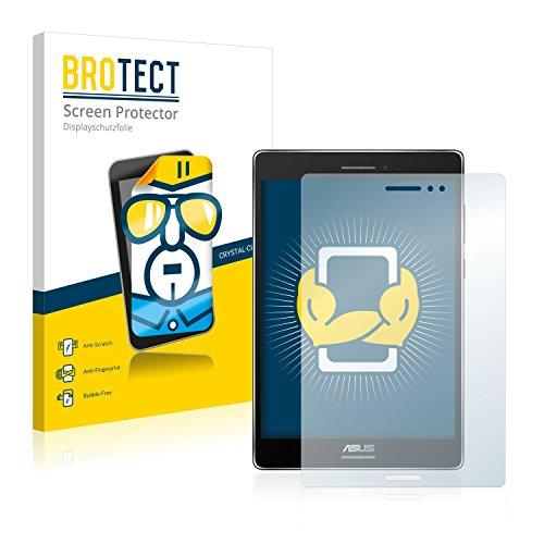 BROTECT Schutzfolie kompatibel mit Asus ZenPad S 8.0 (2 Stück) klare Bildschirmschutz-Folie