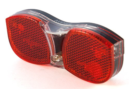 Sport Direct™ Mega Bright Avenue Fahrrad Bike LED Dynamo Rücklicht