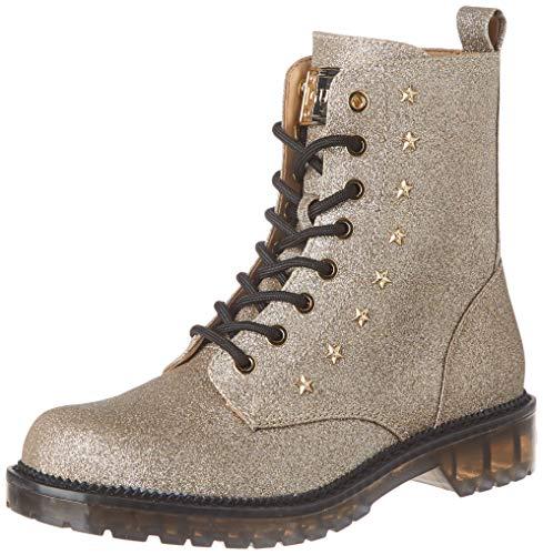 Guess Damen I-Tavora2-Eu Combat Boots, Gold (Gold PLATI), 39 EU