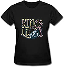 OMMIIY Women's Kings of Leon T shirts