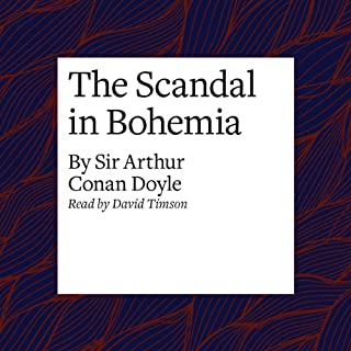 The Scandal in Bohemia cover art