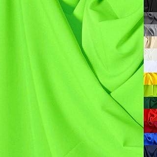 Modestoff / Dekostoff universal Stoff ALLROUND knitterarm - Meterware am Stück Hell-Grün
