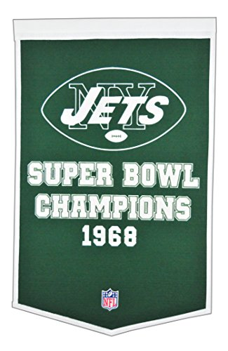 Winning Streak NFL New York Jets Dynasty Banner