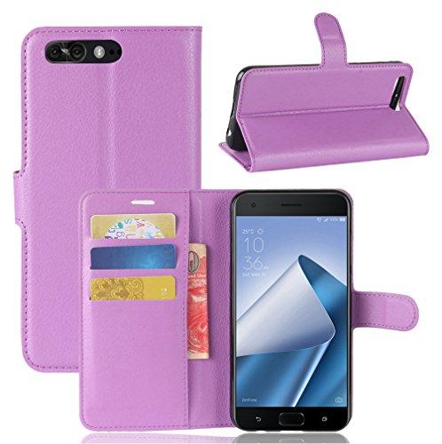 NEKOYA ASUS Zenfone 4 Pro/ ZS551KL Hülle,ASUS Zenfone 4 Pro/ ZS551KL Lederhülle, Handyhülle im Brieftasche-Stil für ASUS Zenfone 4 Pro/.Schutzhülle mit [Standfunktion] [Kartenfach] [Magnetverschluss]