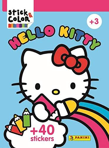 Stick & Color hello kitty