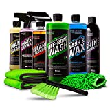 Slick Products Ultimate Cleaning Kit Bundle for Car, Truck, Motorcycle, UTV, Dirt Bike, Side by Side, ATV, Off-Road Truck, Jeep, Boat, Jet Ski, Watercraft, Mountain Bike, BMX, Road Bicycle, and More.