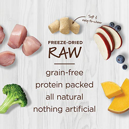 Instinct Freeze Dried Raw Boost Mixers Grain Free Cage Free Chicken Recipe All Natural Cat Food Topper by Nature's Variety, 6 oz. Bag