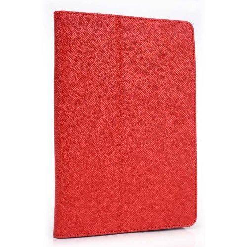 DigiLand DL808W 8 Inch Tablet Case, UniGrip Edition - by Cush Cases (Red)