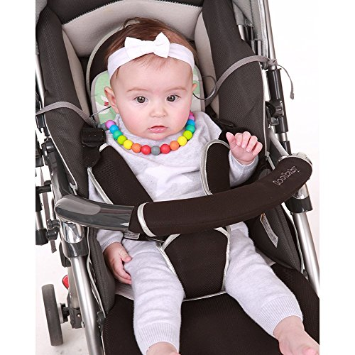 Beige Bebettirang Mesh Cool Seat Liner Cooling Pad Cushion Seat for Baby Good for Any Infant Strollers and Carseat