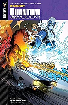 Quantum and Woody Vol. 2: In Security - Introduction (Quantum and Woody (2013- )) by [James Asmus, Ming Doyle, Jordie Bellaire]