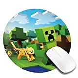 Round Mouse Pad Round Non-Slip Mousepad Gaming Mouse Pad 7.9 X 7.9 Inch