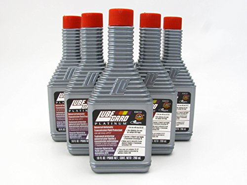 LUBEGARD Lube Gard Automatic Transmission Fluid ATF Synthetic Additive Platinum 6 pack
