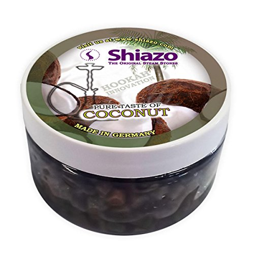 Shiazo 100 gr. Cocco simandra - Coconut - Pietra granuli - nicotina batovi Tabacco di ricambio 100 gr.