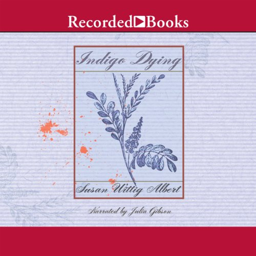 Indigo Dying audiobook cover art