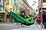 Hängematte Silk Traveller Fallschirmseide grün – Belastbar bis 150 Kg - 7