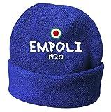 Tipolitografia Ghisleri Cappello Invernale Empoli 1920 Blue Ricamato in Polar Taglia unica47