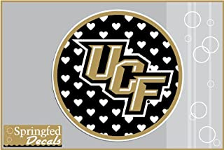 UCF Knights UCF BLACK HEARTS CIRCLE 4