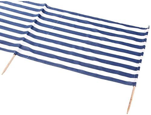 Windschutz (Windschutz 8m, blau weiß, 1)