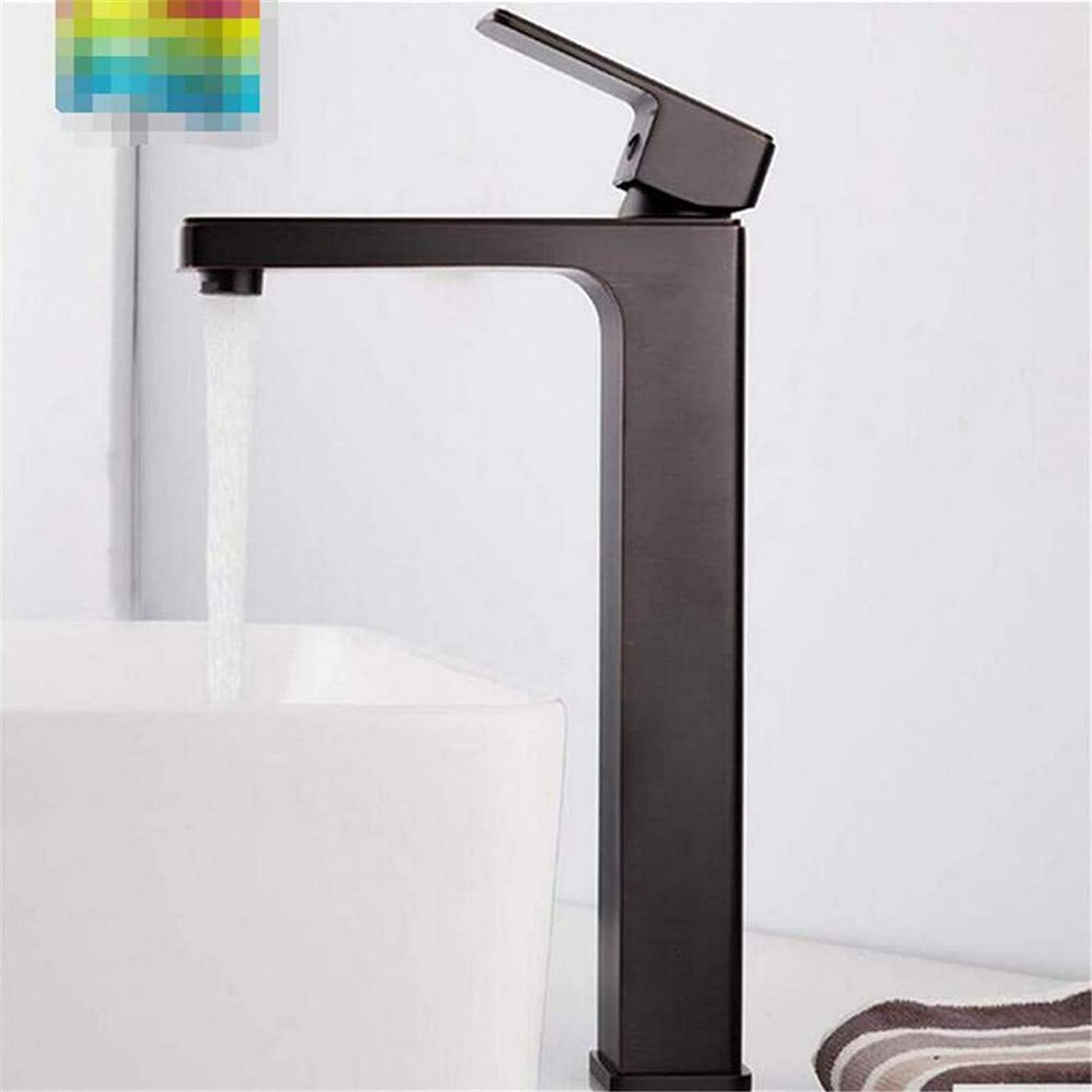 Faucet Hot and Cold Water Brass Chrome Sink Faucet Mixer Tap Deck Mounted Bathroom Mixer Bath Sink Taps