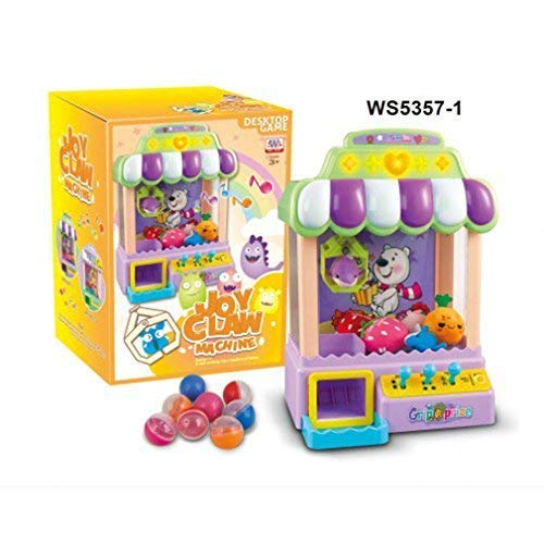 Chocozone Claw Machine Arcade Game Candy Grabber & Prize Dispenser Vending Machine Toy for Kids, with Music | Best Birthday & Diwali Gifts Rakhi Gifts for Boys & Girls Toys for 6 year old boys & girls