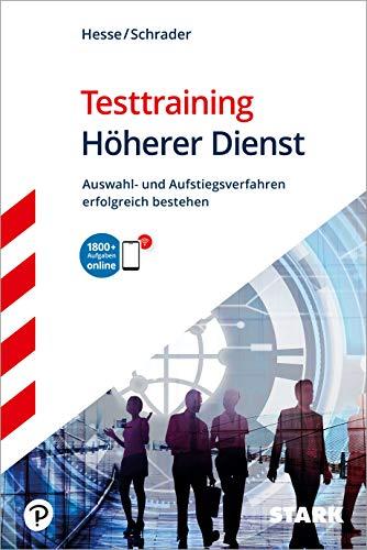 STARK Testtraining Höherer Dienst (STARK-Verlag - Einstellungs- und Einstiegstests)
