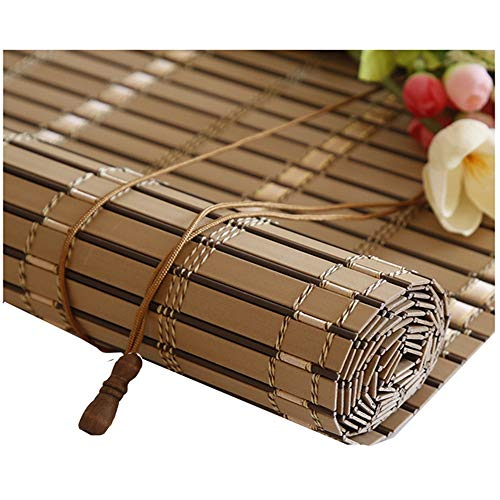 LIANGJUN Persianas Enrollables PVC Impermeable Protector Solar Suave Tipo De Rollo Dividir Cortina - Balcon (Color : C, Size : 60x180cm)