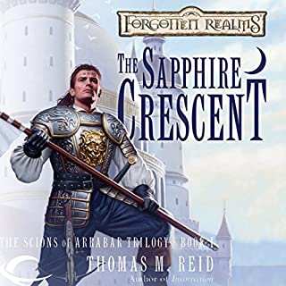 The Sapphire Crescent audiobook cover art