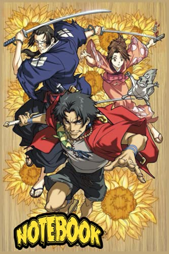 Samurai champloo Notebook: Composition Notebook, Samurai Champloo Anime Manga Journal/Notebook Blank Lined Ruled 6x9 120 Pages