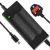COLOR TREE Reemplazos de Cargador de Batería Cable Cargador de batería para de Scooter Eléctrico Xiaomi Mijia M365 EU Enchufe