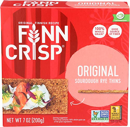 Finn Crisp Crispbread, Original, 7 Ounce (Pack of 9)