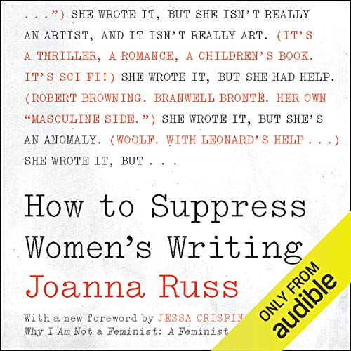 Couverture de How to Suppress Women's Writing