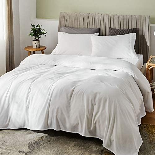 SONORO KATE Bed Sheet Set Bamboo Sheets Deep Pockets 16 Eco Friendly Wrinkle Free Sheets Hypoallergenic product image