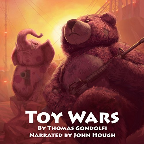 Toy Wars audiobook cover art