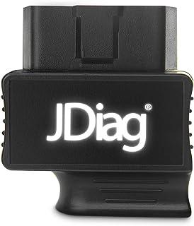 GoolRC JDiag Enhanced BT FASLINK M2 OBDII Scanner Ferramenta de diagnóstico profissional para veículos, Leitor de código d...
