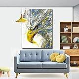 Cabeza de águila, animal_Puzzle de madera para adultos 1000 piezas_Juego de rompecabezas educativo, juguetes ensamblados, imágenes de paisajes, rompecabezas para adultos, regalos para niños_50x75cm