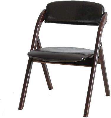 Versa 19840061 Silla Plegable Negra Belfort, 93,5x48x56,5cm ...