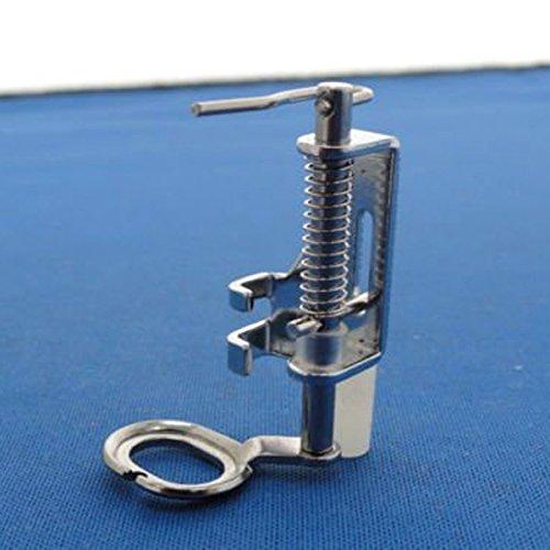 Foxnovo Metallo portatile Free Motion Quilting piede piedino per macchine da cucire domestiche (argento)