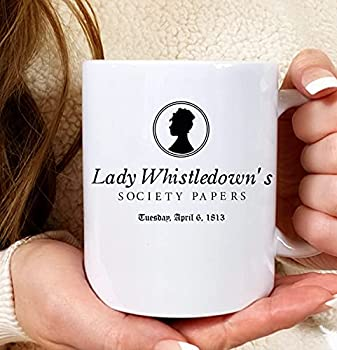 Lady Whistledown's Society Papers mugSpilling Tea since Lady Whistledown mug Daphne the diamond The Duke and I I burn for you mug