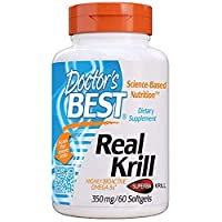 [(ドクターズベスト) Doctor`s Best] [リアル・オキアミ、350 mg、60 ソフトジェルカプセル] [並行輸入品]