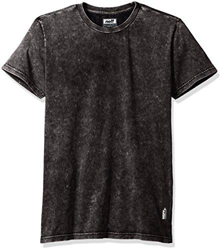 NEFF Men's Contact T-Shirt, Black, X-Large