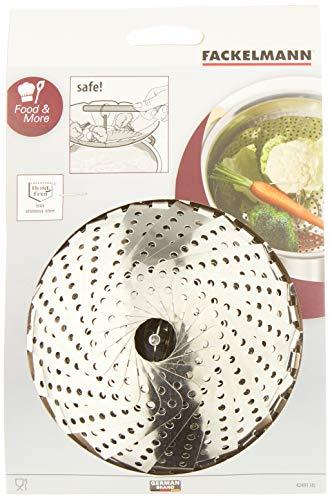 Fackelmann 42491 Cuit Vapeur Inox Diamètre: 14 à 22 cm (Cuisine)